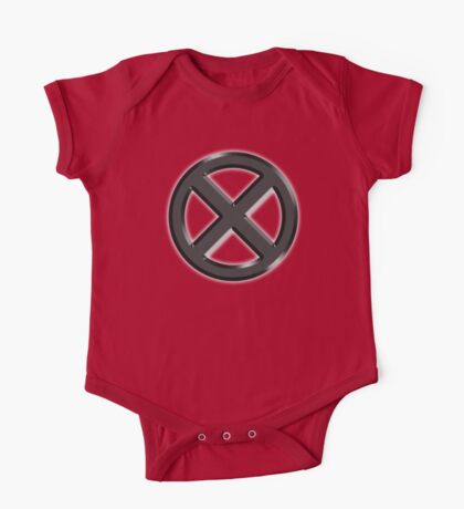 X-men Logo Crest One Piece - Short Sleeve