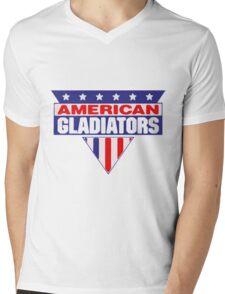 American Gladiators Mens V-Neck T-Shirt
