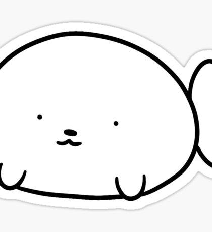 Baby Harp Seal Blob Sticker