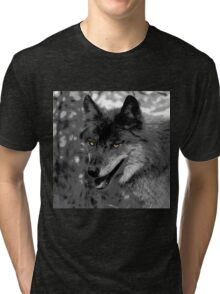 Alpha Male Wolf Tri-blend T-Shirt