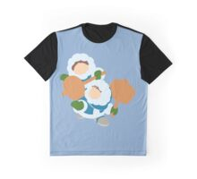 Smash Bros - Ice Climbers Green Gloves Graphic T-Shirt