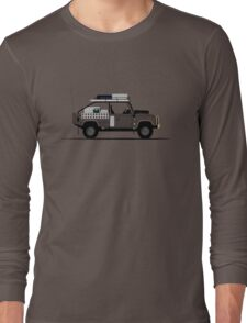 A Graphical Interpretation of the Defender 110 High Capacity Pick Up Tomb Raider Long Sleeve T-Shirt
