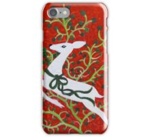 Holiday Deer iPhone Case/Skin