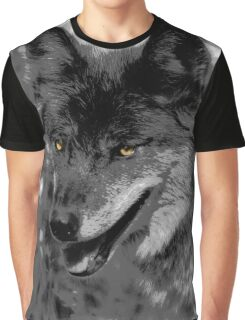 Alpha Male Wolf Graphic T-Shirt