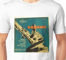 Brahms, Clarinet Unisex T-Shirt