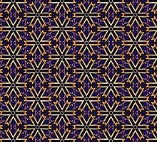 Purple Orange   Hallow-Fall Patterns by ARTDICTIVE