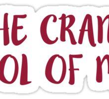 The Crane School of Music - SUNY Potsdam - DECORATIVE1 Sticker