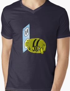 Charging Elekid Mens V-Neck T-Shirt