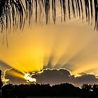 Sun Out Through The Cloud by Zina Stromberg