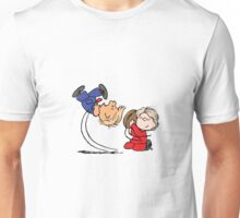 Trump and Clinton Election Peanuts Parody  Unisex T-Shirt