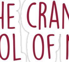 The Crane School of Music - SUNY Potsdam - DECORATIVE2 Sticker