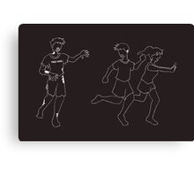 Free Zombie Hugs! on dark Canvas Print