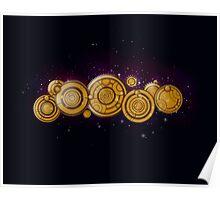 Gallifreyan Steampunk Poster