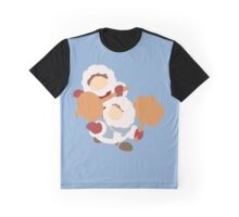 Smash Bros - Ice Climbers Red Gloves Graphic T-Shirt
