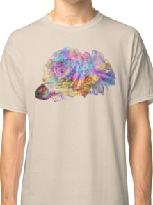 Rose Colorful Brush Classic T-Shirt