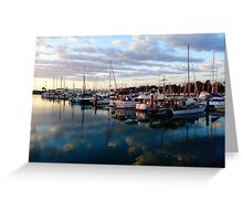 Townsville Sunrise on the Mariner Greeting Card