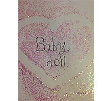 Baby Doll Full Photographic Print