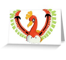 Ho-oh-kyu Greeting Card