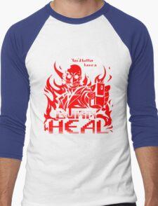 Burn Heal Men's Baseball ¾ T-Shirt