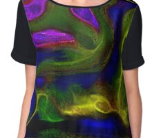 3D Abstract #2909 Chiffon Top