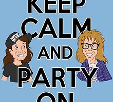 Keep Calm and Party On by Ellador