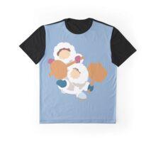 Smash Bros - Ice Climbers White Parkas Graphic T-Shirt