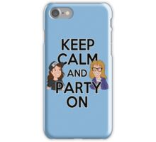 Keep Calm and Party On iPhone Case/Skin
