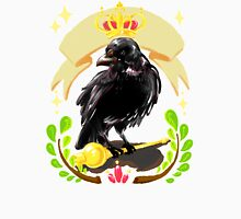 Crow with Crown Womens Fitted T-Shirt