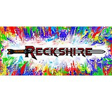 Reckshire with cool colors Photographic Print