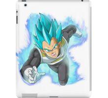 Super Saiyan Blue Vegeta: Attack iPad Case/Skin
