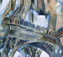 Delaunay - Eiffel Tower Sticker
