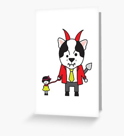 Biggles Greeting Card
