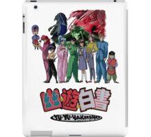 yu yu hakusho and The Three Kings iPad Case/Skin