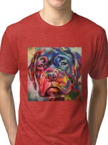 Bull Mastiff Puppy Tri-blend T-Shirt