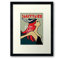 The Horoscope Series - Sagittarius Framed Print