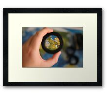 View the World Framed Print