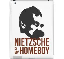 Nietzsche is My Homeboy iPad Case/Skin
