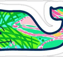 Vineyard Vines Lilly Pulitzer 3-Pack Green Sticker