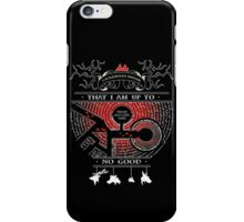 Marauderer iPhone Case/Skin