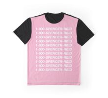 1-800-Spencer-Reid Graphic T-Shirt