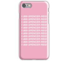1-800-Spencer-Reid iPhone Case/Skin