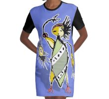 rise Graphic T-Shirt Dress