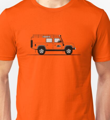 A Graphical Interpretation of the Defender 110 Utility Station Wagon G4 Challenge Unisex T-Shirt