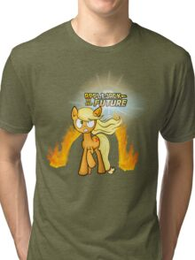 Applejack to the Future Tri-blend T-Shirt