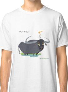 Asiatic Water Buffalo Caricature Classic T-Shirt