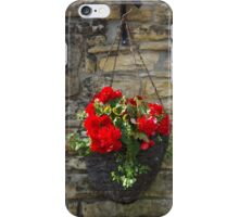 Begonia Basket iPhone Case/Skin