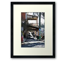 Pole Art, Castlemaine Victoria Framed Print
