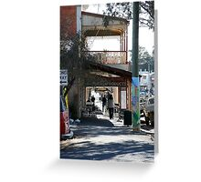 Pole Art, Castlemaine Victoria Greeting Card