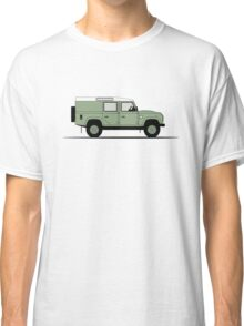 A Graphical Interpretation of the Defender 110 Utility Station Wagon Heritage Edition Classic T-Shirt