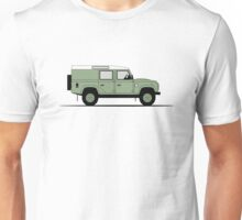 A Graphical Interpretation of the Defender 110 Utility Station Wagon Heritage Edition Unisex T-Shirt